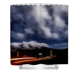 Shower Curtain featuring the photograph Mckenzie Pass by Cat Connor