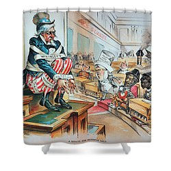 Mckinley Tariff Act, 1894 Shower Curtain by Granger