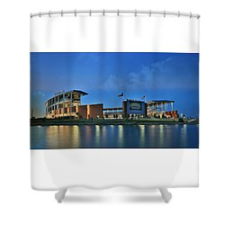 Mclane Stadium -- Baylor University Shower Curtain