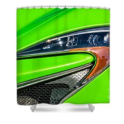 Mclaren P1 Headlight Shower Curtain