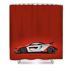 Mclaren Senna Shower Curtain
