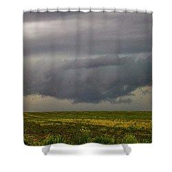 Mcluvn Nebraska Thunderstorms 018 Shower Curtain
