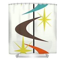 Mcm Shapes 2 Shower Curtain