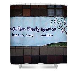 Mcquillen Family Reunion 2017 Shower Curtain