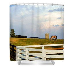 Mcray's Sky Shower Curtain