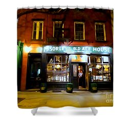 Mcsorleys At Night Shower Curtain