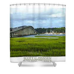 Mcteer Bridge Shower Curtain