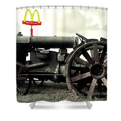 Mctractor Big Mac Shower Curtain