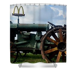 Mctractor Shower Curtain by Gary Smith