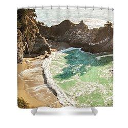 Mcway Falls, California Shower Curtain