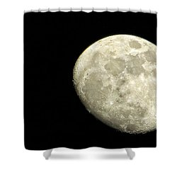 Shower Curtain featuring the photograph Me And The Moon Tonight by Nikki McInnes