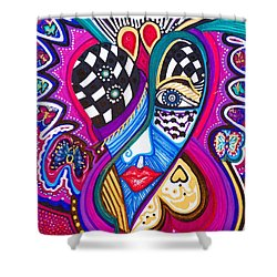 Me Looking For Love - Viii Shower Curtain