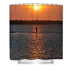 Me Time Shower Curtain