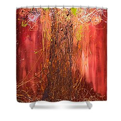 Me Tree Shower Curtain