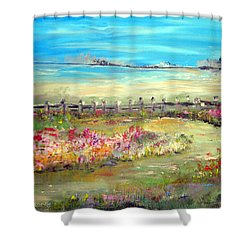 Meadow Bluffs Shower Curtain