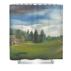 Meadow Dreams Shower Curtain