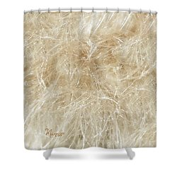 Meadow Fluff Shower Curtain