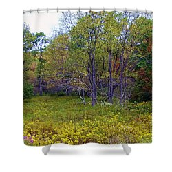 Meadow Of Gold Shower Curtain