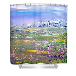 Meadow Sky By Colleen Ranney Shower Curtain