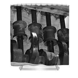 Mechanism Shower Curtain