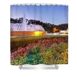 Mecom Fountain Shower Curtain