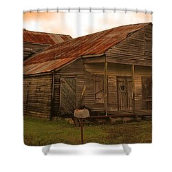 Medever Store Shower Curtain