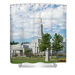 Medford Temple Shower Curtain