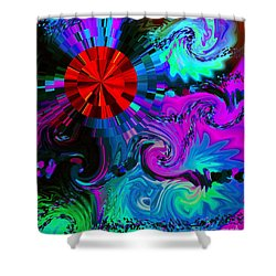 Medicine Dreams Shower Curtain