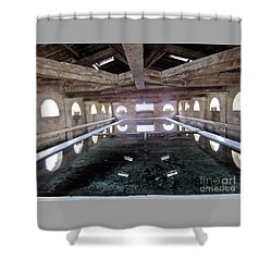 Medieval Bath House Shower Curtain