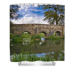 Medieval Bridge Shower Curtain