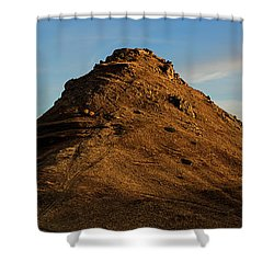 Medieval Proshaberd Fortress On The Top Of The Hill, Armenia Shower Curtain