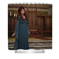 Medieval Queen Shower Curtain