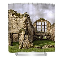 Medieval Ruins Shower Curtain