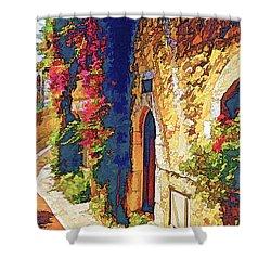 Medieval Saint-paul-de-vence Shower Curtain