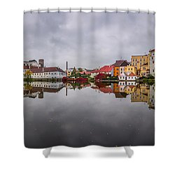 Shower Curtain featuring the photograph Medieval Symphony by Dmytro Korol