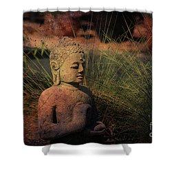 Meditation Shower Curtain by Susanne Van Hulst