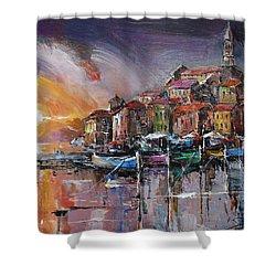 Mediterranean Motif IIi      Shower Curtain