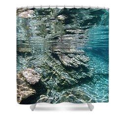 Shower Curtain featuring the photograph Mediterranean by Rico Besserdich