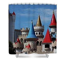Medival Castle Shower Curtain
