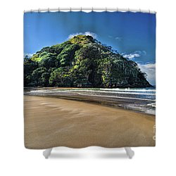 Medlands Beach Shower Curtain