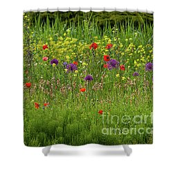 Medley Of Flowers Shower Curtain