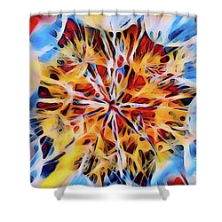 Medow Dandelion Shower Curtain
