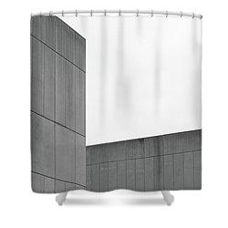Medsci Building Shower Curtain