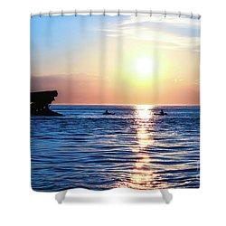 Meet Me At Sunset Shower Curtain