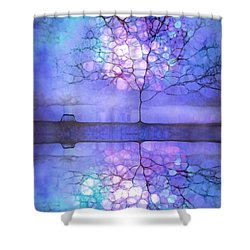 Meet Me At Twilight Shower Curtain