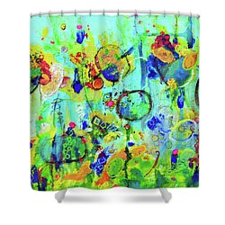 Meet You At The Carnival Shower Curtain