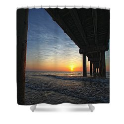 Meeting The Dawn Shower Curtain