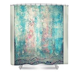 Mega Geothermal Meditation Shower Curtain by Scott Haley