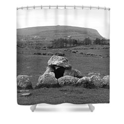 Megalithic Monuments Aligned Shower Curtain