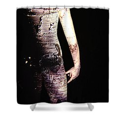 Megan Shower Curtain by Arla Patch